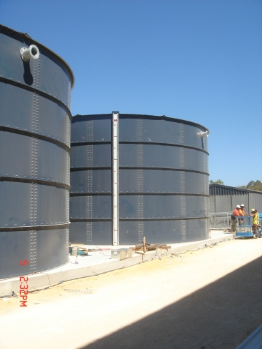 firewater tank project